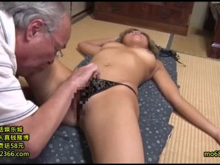 GVG-368 Out In The Lascivious Old Man And Busty Gal SEX 5 Kitsusaku Good