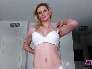 Kellie Shaw & Khloe Kayden Gorgeous TS Babes Share A Big Dick