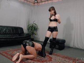 Cruel Mistresses – Mistress Nina – Cruel Punishment – Nina's trained slave
