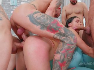 """Lady Gang - Lady Gangin """"The Therapy"""" 0% pussy, balls deep anal, DAP, Spit in the face, hard FUCK 4 ON 1 PAF017 [HD 720P] - Screenshot 5"""