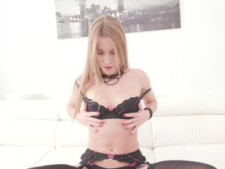 Double penetration & balls deep anal fucking for Alexis Crystal SZ2083