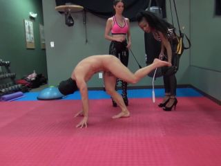 Beating Corporal Punishment – Kinky Mistresses – The Kinky Fitness GYM – Mistress Susi and Mistress Jasmine
