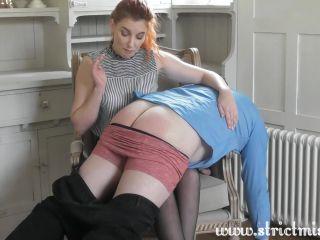 Elegant discipline - Miss Prim teaches a wife how to discipline her husband pt 1