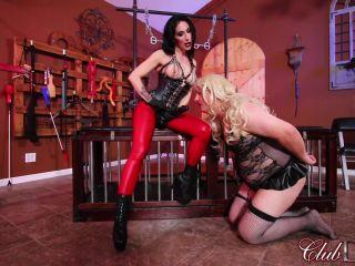 Anus Fucking – ClubDom – Alissa Avni and Raven Strapon Fucking