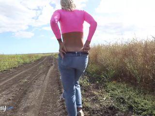 Babe Big Butt Handjob Big Dick Outdoor POV