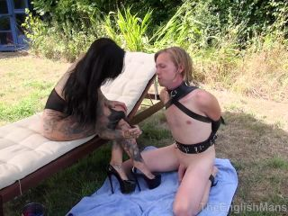 Tattooed Domina – The English Mansion – Falling At Her Feet – Part 2 – Miss Annalisa