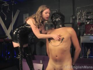 [Femdom 2019] The English Mansion  The Cuck Box. Starring Mistress T [Electric, Electric Play, CBT, Pussy Worship, Cunnilingus, Pussy Eating, Pussy Licking, Femdom Sex]