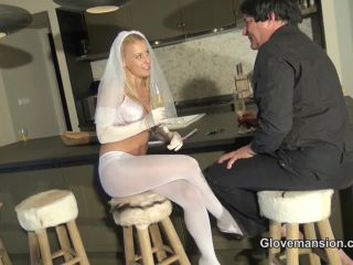 Porn online [Femdom 2018] Glove Mansion – Wedding night cuckold contract part 1. Starring Nikki Whiplash [Cuckolding, Cucky, Cuck, Blonde, Lingerie, Blowjob] femdom