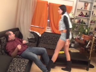 Foot humiliation – Goddess REA – 'Saloon Girl' – EXTREME Domination And Humiliation In Cowboy Style Boots