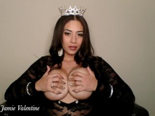 Jamie Valentine - topless findom joi challenge