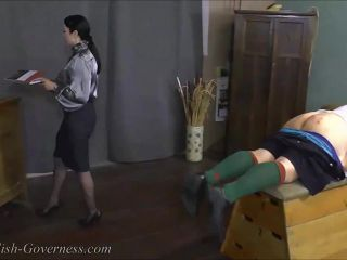 Theenglishgoverness – The English Governess – The Red Discipline Book-with Governess Wood Part One