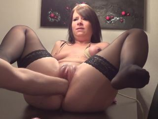 Fisting fetish porn, two hands in pussy, amateur and horny