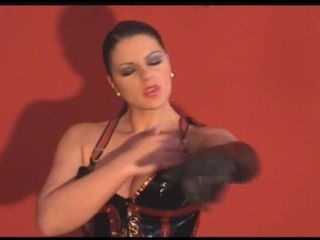 Slave To Gloves Strapon, Anal Fisitng, Pegging, FemDom