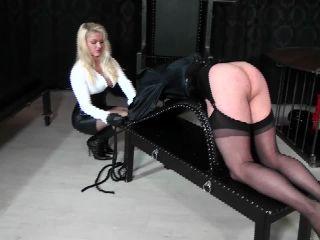 Evsfetishfemdom – Lady Cynthia – Punishment trestle