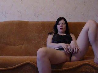 Busty and chubby girlfriend masturbating and hardcore fucking video