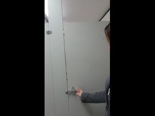 shesleah public restroom cum at college