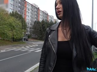 FakeHub – Ania Kinski in MILF loses handbag and her panties