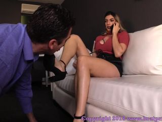 Shoe Licking – Brat Princess 2 – Mia – Turns Unsatisfactory Online Date into Cuckold Foot slave