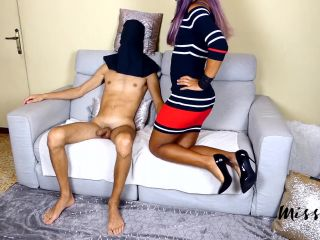 MissFluo - Foot Fetish Special Handjob Cum in Shoes