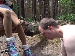 Feet slave – dirty sneaker worship and nasty trampling