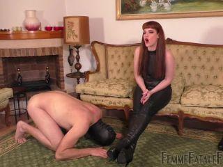 FemmeFataleFilms – Miss Zoe – Boot Worship Day