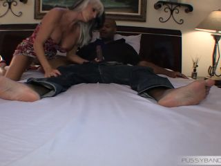 PussyBandit presents Sally D Angelo First All 3 holes filled