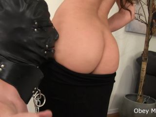 Cock Cage – Obey Melanie – Don't drop your cum