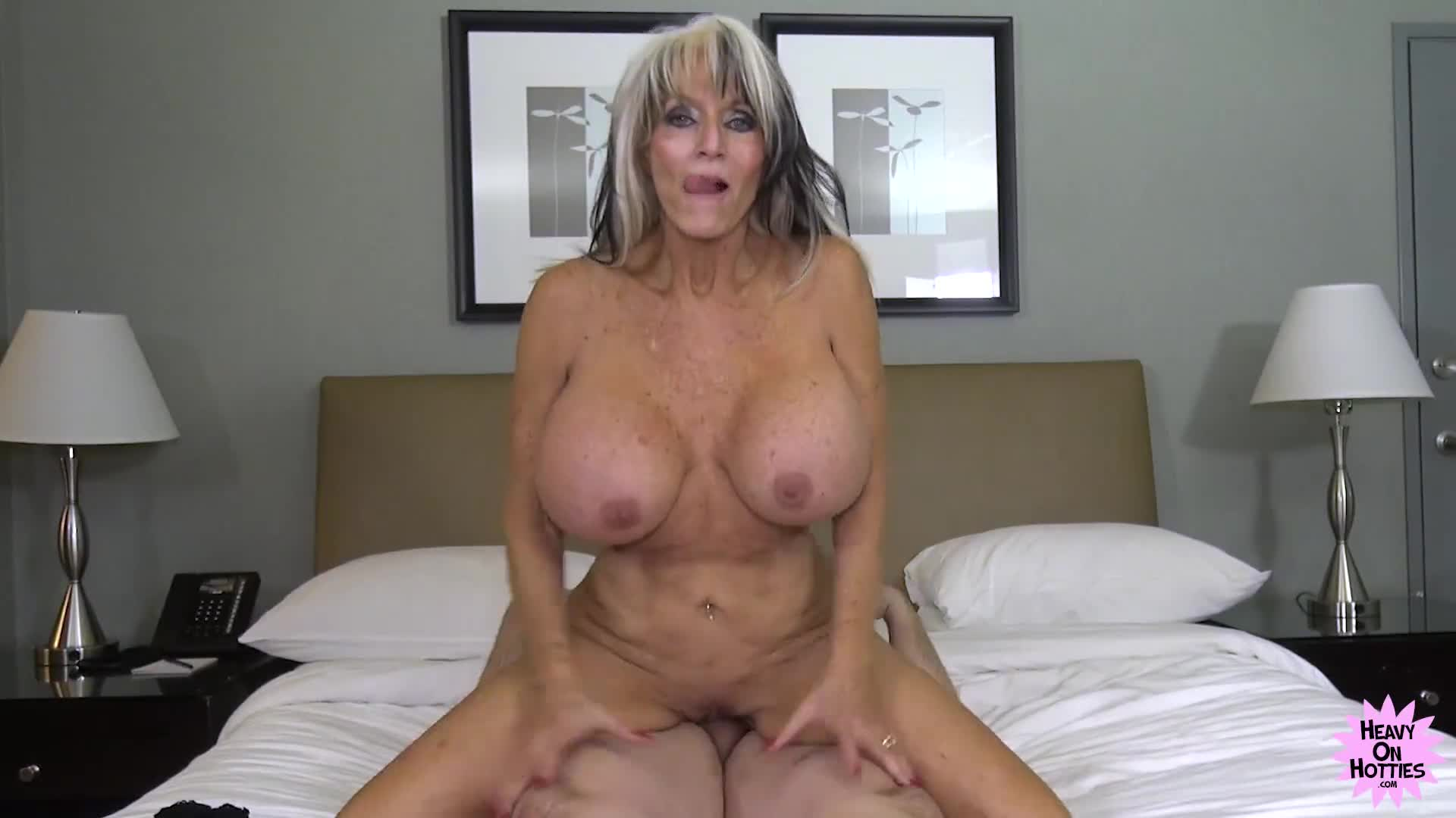 Giant Fake Tit Mature - Mature granny with fake boobs fucked and dominated - XFantazy.com