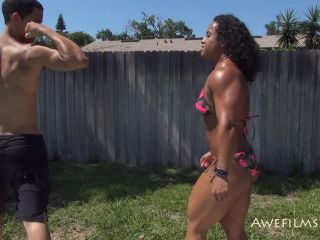 AWE Films – Kashma – Pool Boy Dom (Part 1-3 )