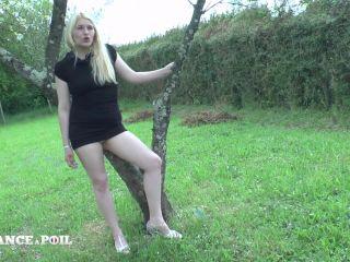 Sarah Laroche - A young unfaithful blonde slut gets analyzed and jizze ...
