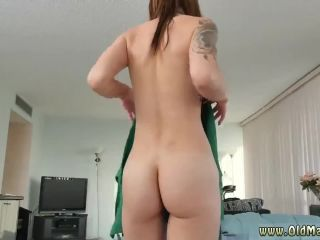 Old man big tit girl and old man fuck mom and old man fucks redhead and