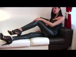 Jerk It For My Leather Heels