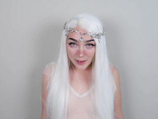 Hero Breeds Ahegao Elf Slut 1080p – Millie Millz on masturbation