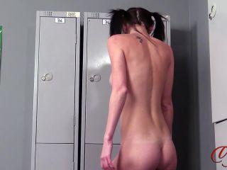 Porn online [Femdom 2018] Lady Voyeurs – Locker Room Flash. Starring Ella Rose [Jerk Off, Male Orgasm, Ejaculation, Sperm, Cumshot, Milking] femdom