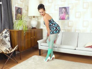 milf - NHLPCentral presents Tindra Frost in Party Girl, Pantyhose Style!