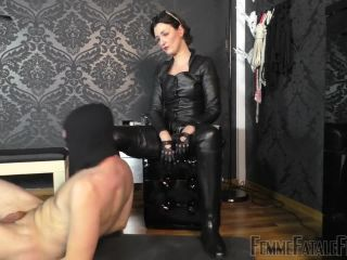 cast fetish fetish porn | Femme Fatale Films – Used & Milked Dry – Part 2 –  Lady Victoria Valente  – Human Ashtray, Riding Boots | leather boots
