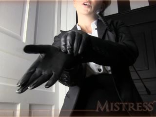 Mistress T – Glove Lover Made Into Sex Slave