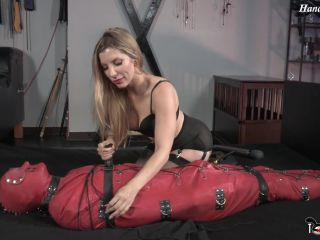 Slave Bound In Latex From Head To Toe Is Sexually Used Before Orgasmic Release – Featuring Ashley Fires – Torture Time