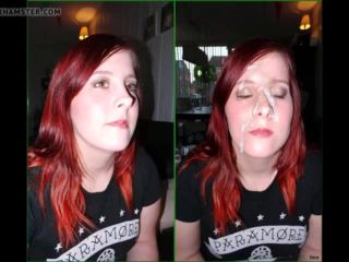 before and after cum facial compilation