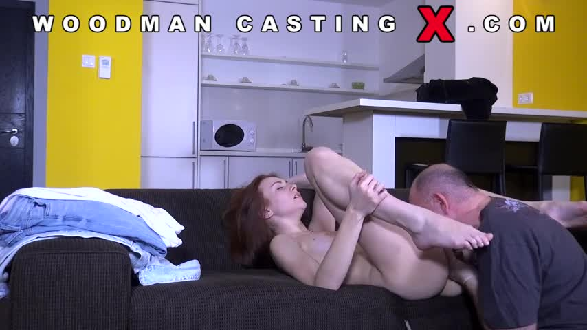 Ebony Anal Casting Threesome