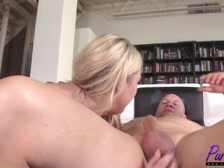 Pure-BBW presents Lila Lovely – Amazon Blonde Takes It In The Ass Like A Champ – 14.12.2017