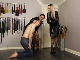 Miss Jessica's Punishments UK - Undercover sting operation - caning on fetish porn