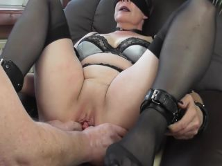 Fisting orgasms in bondage
