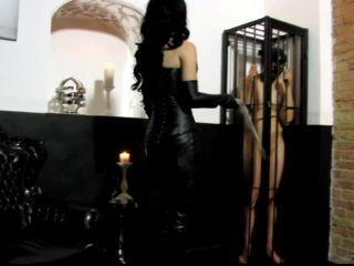 Cfnm – F E M D O M Goddesses – Whips and kicks on the balls of the slave