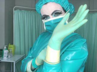 Glove Fetish – Haus of Poison – Latex Surgeon 30 Needles, Prostate Massage & Milking