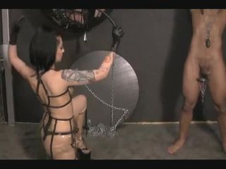 Electrician Captured Enslaved - Part 2 Cock Whipping & Caning