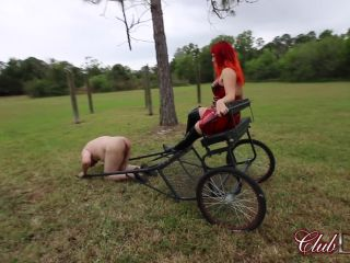 Degradation – ClubDom – Punished For Speaking By Lady Karma