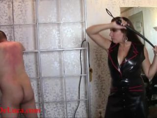 Fascist FemDom  Lashing the Livestock. Starring Elena De Luca [WHIPPING, CORPORAL PUNISHMENT, MILITARY, LATEX, UNIFORMS]