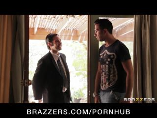 Horny French maid with perfect Keiran Lee, Tessa Lane