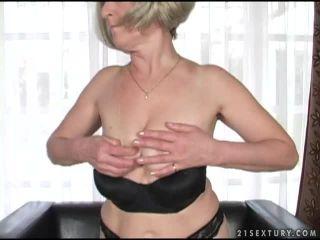 Submissive old slut